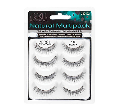 Ardell Natural Multipack #110 (4 Pairs) - Glammua