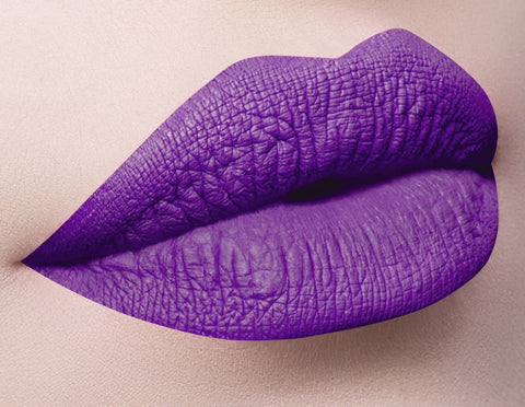 Dose of Colors Matte Lipstick - Purple Rain - Glammua