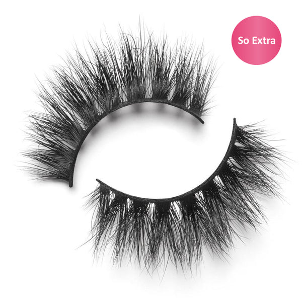 "Lilly Lashes 3D Mink Lashes ""So Extra"" Mykonos - Glammua"