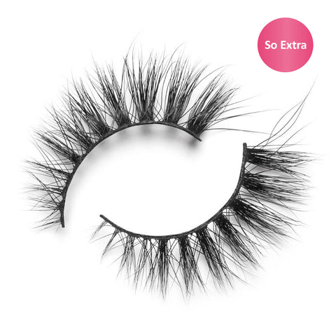 "Lilly Lashes 3D Mink Lashes ""So Extra"" Doha - Glammua"