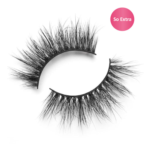 "Lilly Lashes 3D Mink Lashes ""So Extra"" Miami - Glammua"