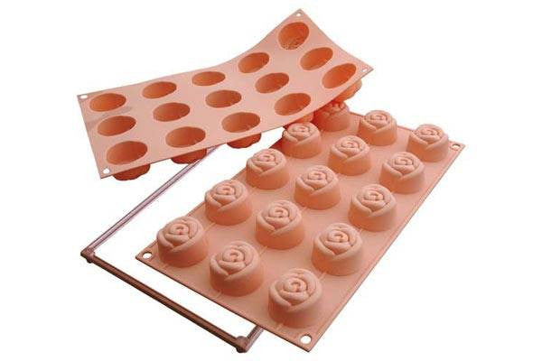 Cake Mould Small Rose