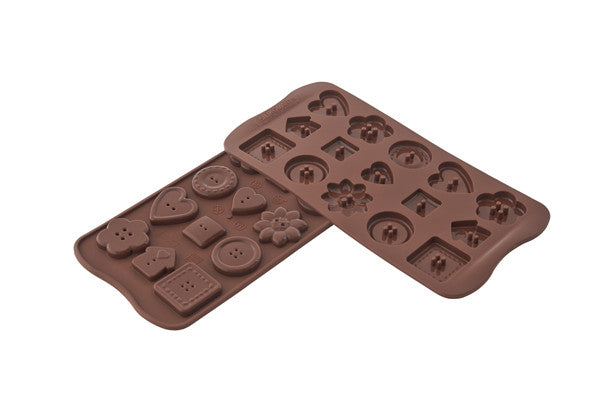 Chocolate Mould -  Choco Buttons