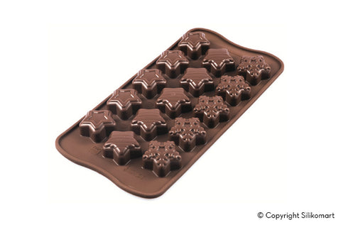 Chocolat mould - Winter Star