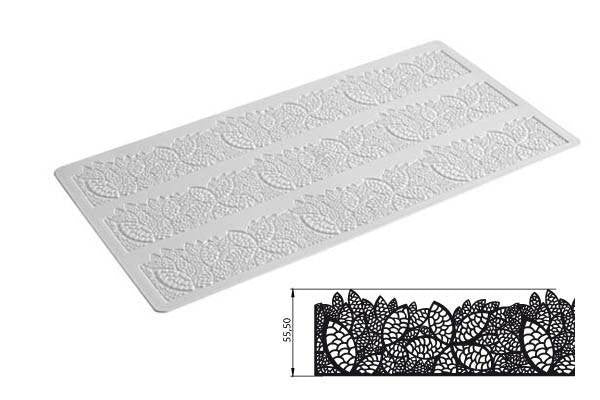 Tricot Decor Mat - Leaves