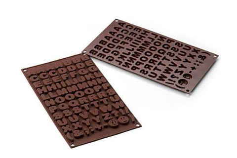 Chocolate Mould Choco ABC