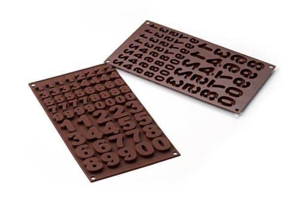 Chocolate Mould Choco 123