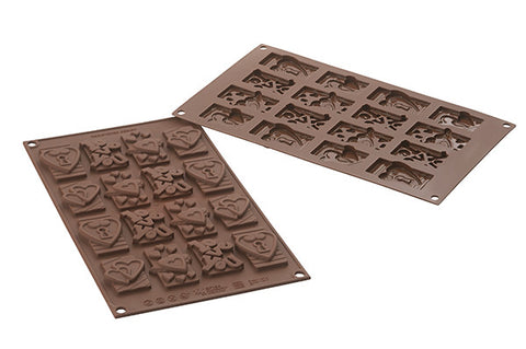 Chocolate Mould - Choco tags in love