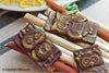 Chocolate Mould - Funny Owls Choco Tags
