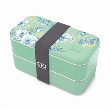 Monbento Original - Limited Edition - Mint Floral