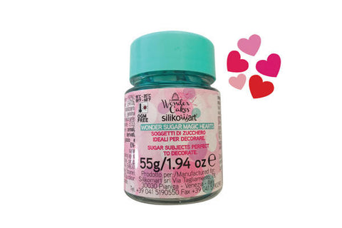 Candy Wonder Sugar Hearts 35g