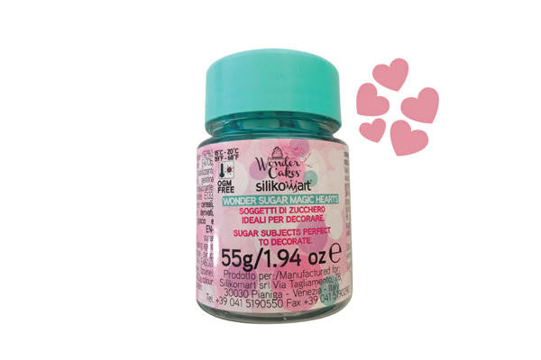 Candy Wonder Sugar Hearts 55g
