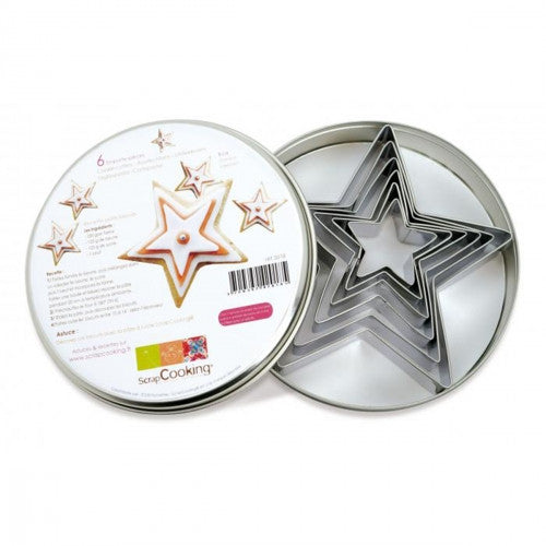 Stainless Steel Cutters - Stars