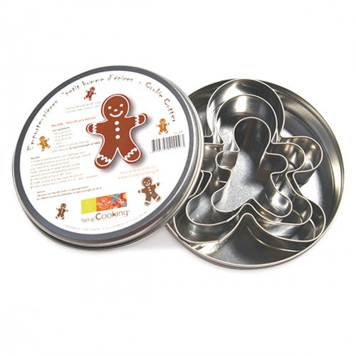 Stainless Steel Cutters - Gingerbread Man
