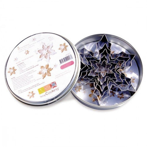 Stainless Steel Cutters - Snowflakes