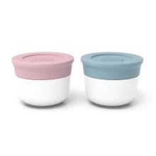 Monbento Temple S - The sauce cups - Litchi/ Iceberg
