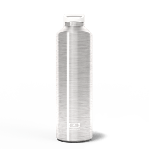 MB Steel Silver - The insulated bottle