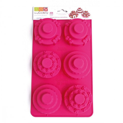 Cake Mould - Mini Tiered cakes