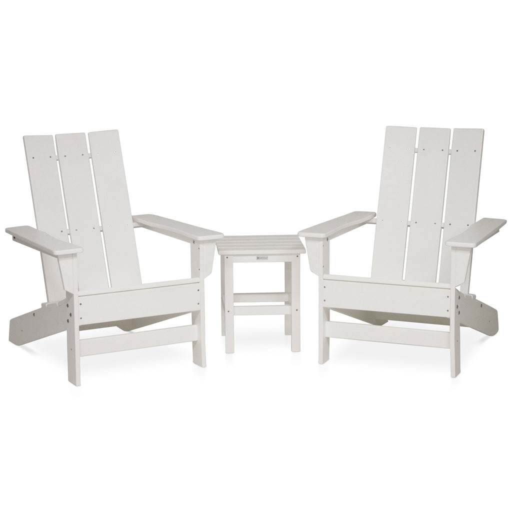 Elan Furniture Wyndtree Modern Adirondack Set