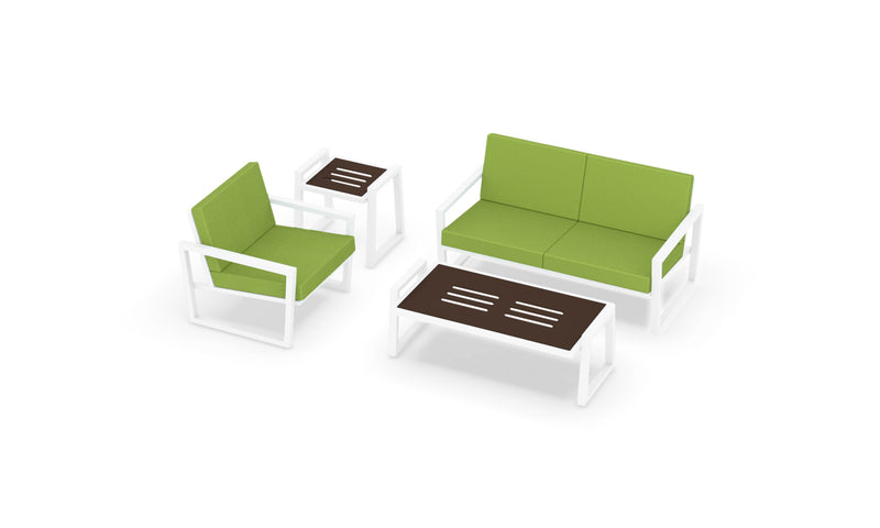 Elan Furniture Vero Outdoor 4 Piece Conversation Set