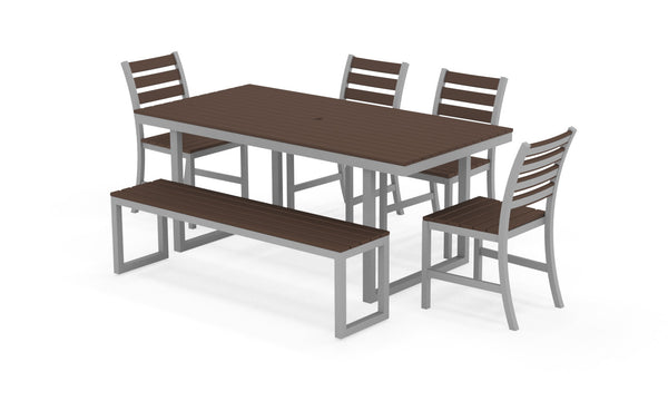 Kinzie Outdoor Modern Dining Set 672