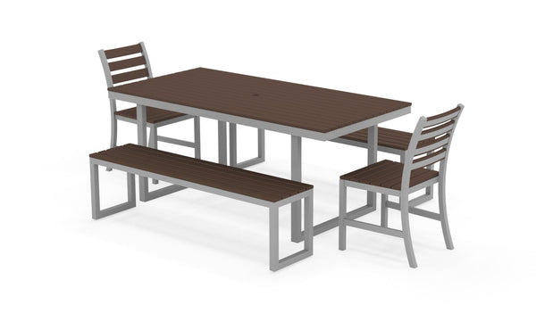 Kinzie Outdoor Modern Dining Set 772