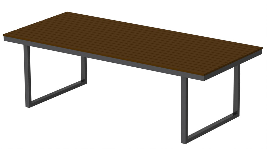 "Elan Furniture Kinzie Outdoor 96"" Rectangular Dining Table"