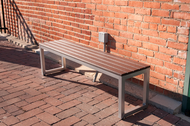 "Elan Furniture Loft Outdoor 60"" Bench"