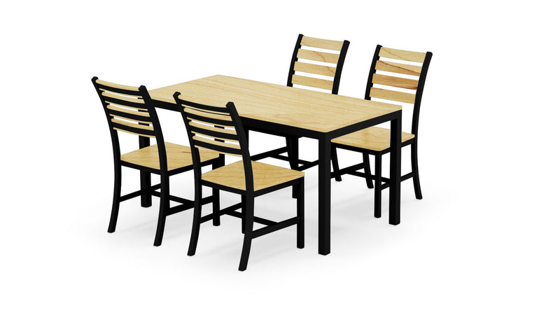 Elan Furniture Loft Indoor Rectangular 5 Piece Dining Set