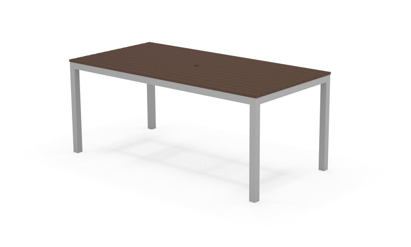 Loft Outdoor Modern Dining Table 72 x 36