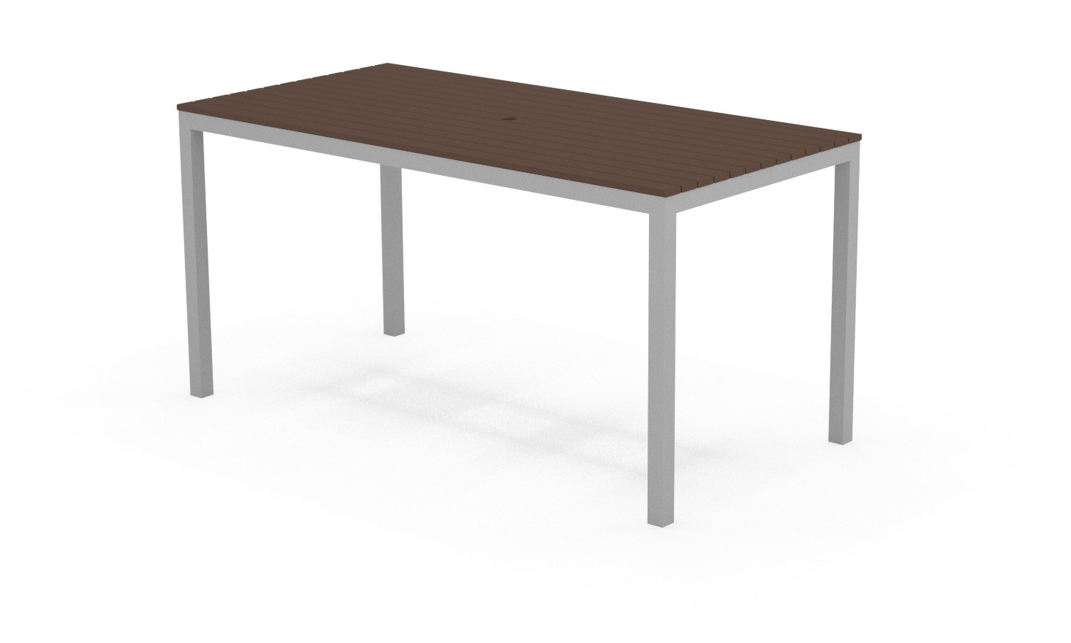 Loft Outdoor Modern Counter Height Dining Table 72 X 36