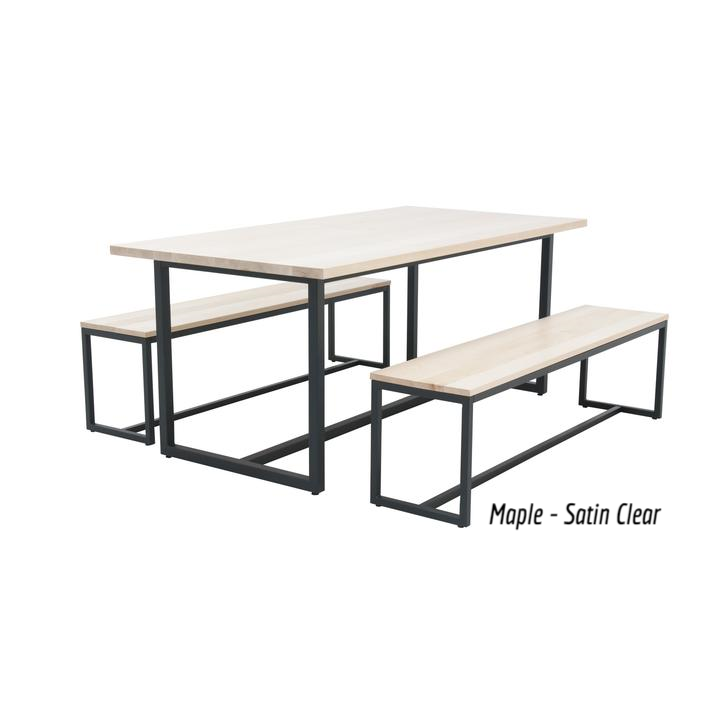 Super Elan Furniture Port Indoor 72 Rectangular 3 Piece Bench Gmtry Best Dining Table And Chair Ideas Images Gmtryco
