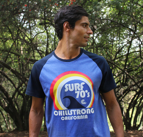 T-shirt Surf 70 Purple