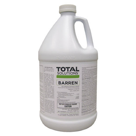 Barren Weed Killer & Soil Sterilant - Total Kill