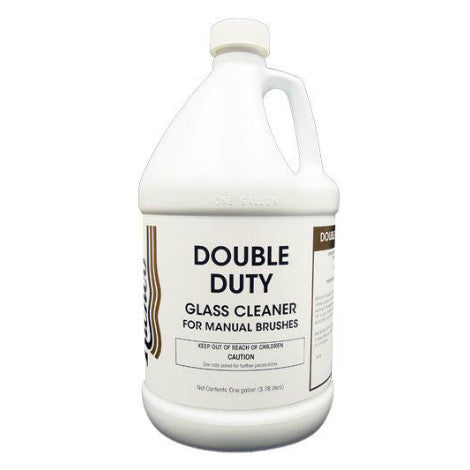 Double Duty Glass Cleaner (For Manual Brush Washing)
