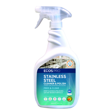 Natural Stainless Steel Cleaner & Polish
