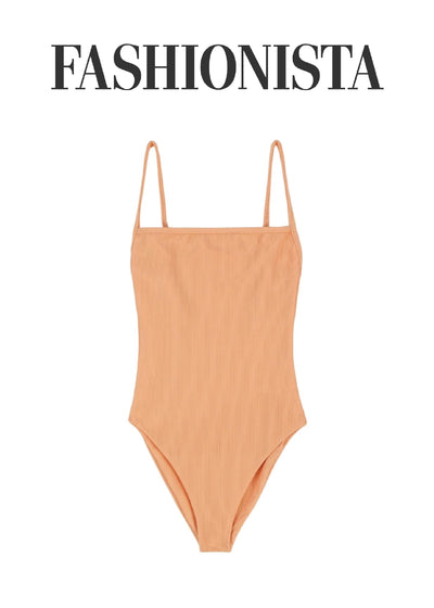 FASHIONISTA: 16 RIBBED SWIMSUITS TO WEAR THIS SUMMER, WHEN YOUR TEXTURED TANK NEEDS A BREAK