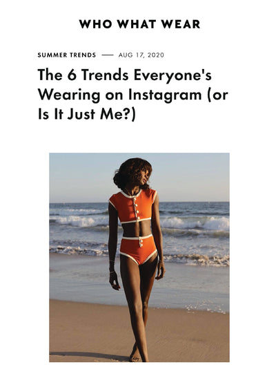 WHO WHAT WEAR: THE 6 TRENDS EVERYONE'S WEARING ON INSTAGRAM (OR IS IT JUST ME?)