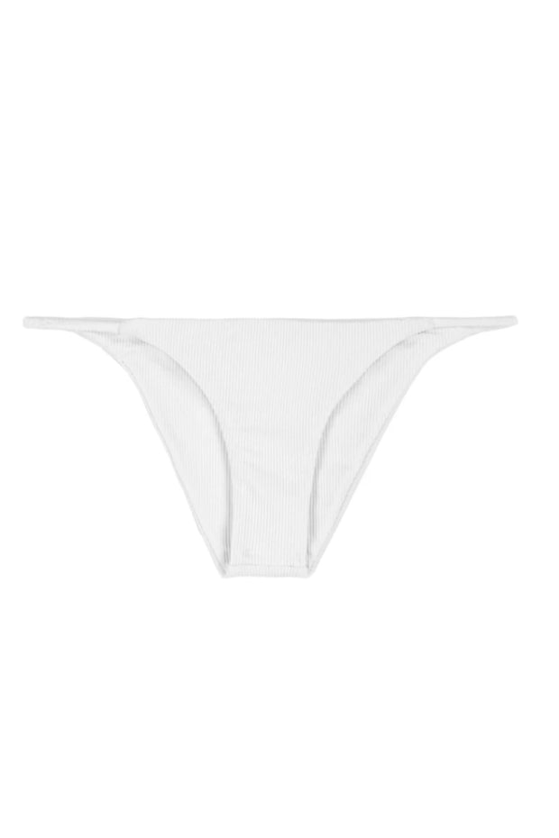 String Bottom (Ribbed White)