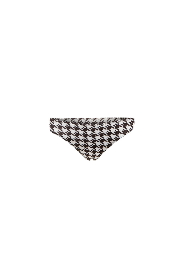 Tanning Bottom (Black Houndstooth)