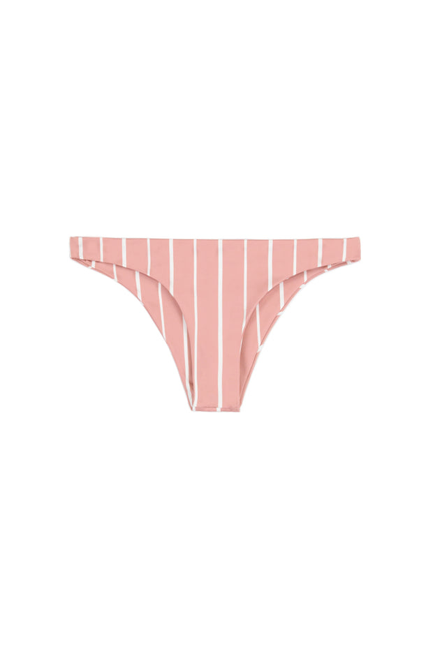 Brief Bottom (Pink White Stripe)