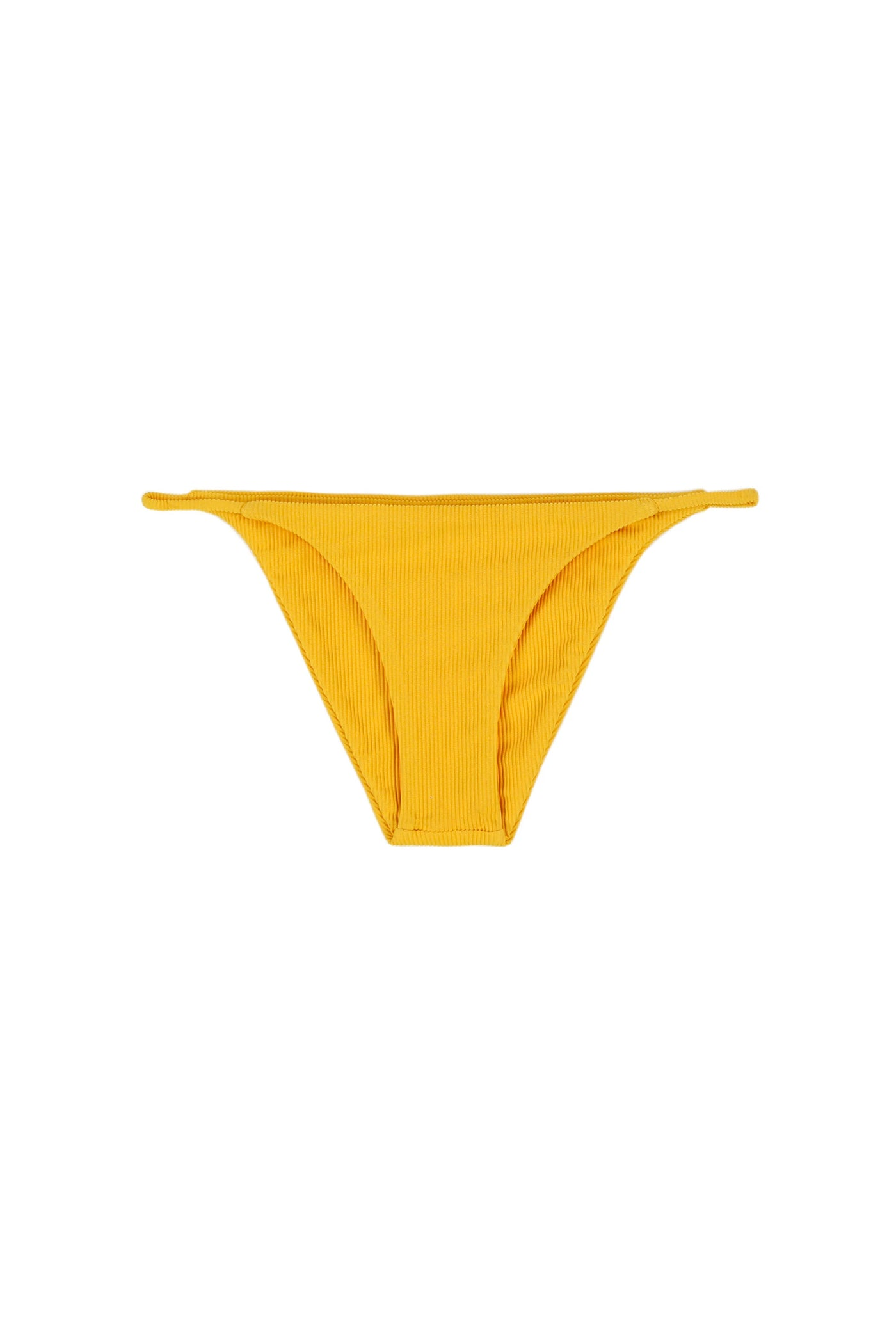 String Bottom (Ribbed Yellow)