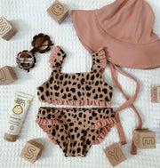 mini me top (leopard/ribbed blush)