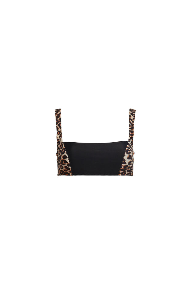 The Divine Top (Cheetah/Black)