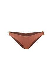 Blake Brief Bottom (Faux Suede Burnt Sienna)