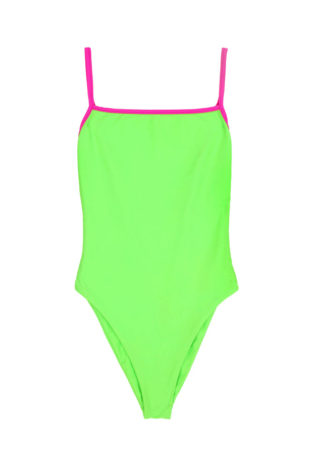One Piece (Neon Green/Neon Pink)