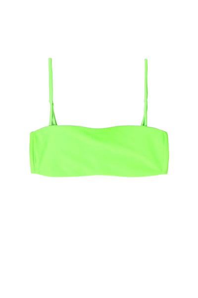 Bandeau Top (Neon Green)
