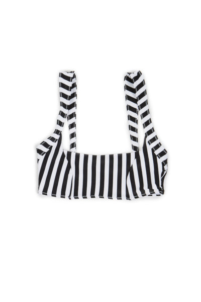 The Divine Top (Black/White Stripe)
