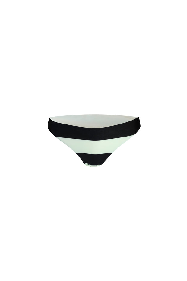 The Lady Brief (Black Cream Stripe)