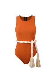 The Lady One Piece (Ribbed Penny)